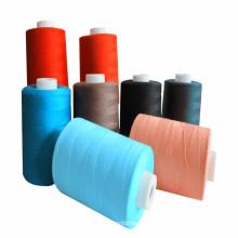 wholesale cheap 100% spun polyester sewing thread 203