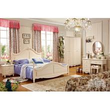 Gute Qualität Klassische Luxus Schlafzimmer Möbel Set (HF-MG603)