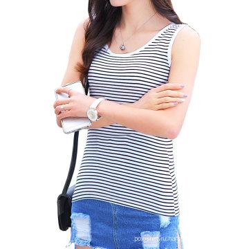 Женские дешевые заказ полосатые футболки оптом