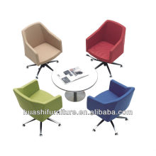 S-010B swivel armchair