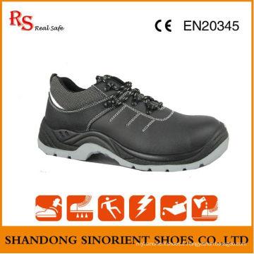 Chaussures de sécurité du travailleur avec pointe en acier et plaque en acier RS044