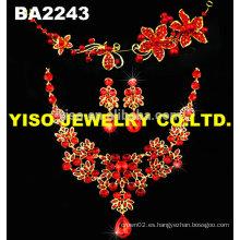 Conjunto de joyas de boda