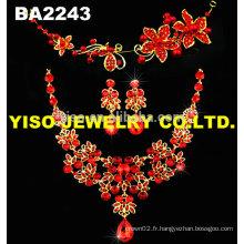 Ensemble de bijoux de mariage