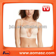 Hot Fashion Women Seamless U Plunge Bra,U Bra