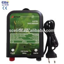 Energizador de cerca de proteção PV, (54896598, entrada de corrente de corrente alternada) Energizador de cerca elétrica