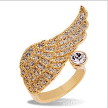 Joyería de la manera del anillo de diamante del anillo de oro de la joyería 2014
