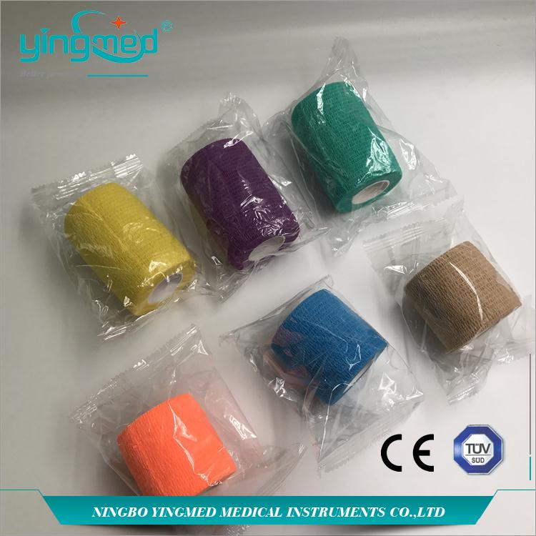 Self-adhesive bandage