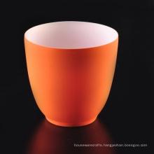 Stripe Texture Glazed Ceramic Candle Holder Supplier