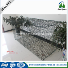 PVC Coated Gabion Basket 2x1x1