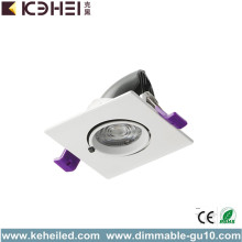 Downlight LED da incasso 6000K 7W 15 gradi