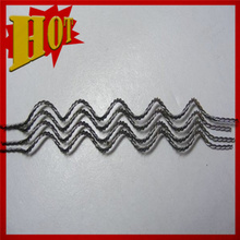 Wolfram W1 Pure Tungsten Twisted Wire para revestimiento