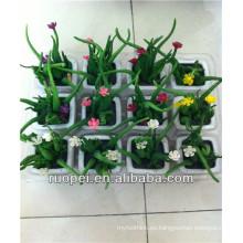 Plantas de cactus artificiales para decorados de escritorio de oficina