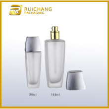 Glass bottle set for cosmetic packaging