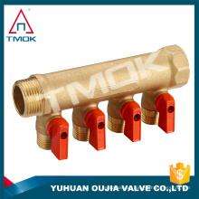 fabricación en China Mainfold para cuatro vías motorizado y forjado CW617n material y alta calidad