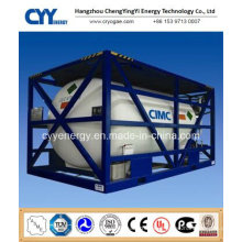 High Pressure Cryogenic Liquid Oxygen Nitrogen Argon Carbon Dioxide Tank Container