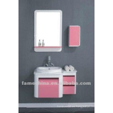 Mueble de baño rosa