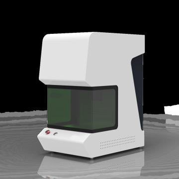 Mini type fiber laser marking machine