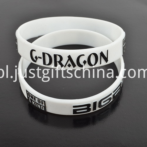 Embossed Imprinted Silicone Bands - Adult Wristbands