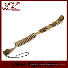Tactical Elastic Force Gun Sling for Pistol Sling Safety Rope