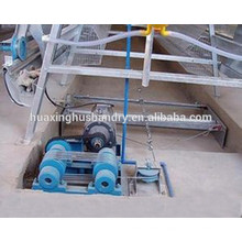 manufacturer supply manure scraper machine for chicken cage farm