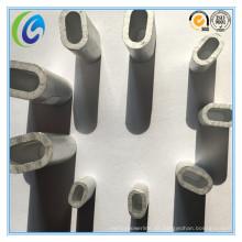 Manga de aluminio oval de alta calidad DIN3093