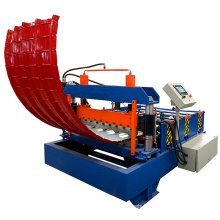 Guangzhou market hot sale steel metal roof panel curve bending machine / curving machine