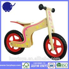 Alta qualidade crianças bicicleta de madeira