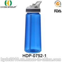 Botella de agua clara libre del deporte de Tritan de la venta caliente de 700ml BPA (HDP-0752-1)