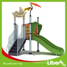 Kinderspielset, Plastikspielset, Outdoor Spielplatz in einfacher kleiner Größe