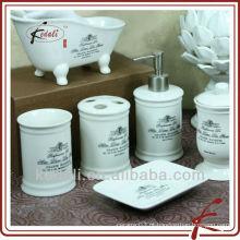 Estilo frech - conjunto de casa de banho de cerâmica