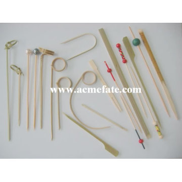 hot sell color bamboo skewers