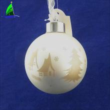 Light Up Glass Family Christmas Ball Ornaments