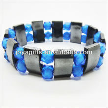 01B5002-2 / novos produtos para 2013 / hematite pulseira espaçador jóias / bracelete hematita / pulseiras de saúde hematita magnético