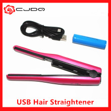 2016 New USB Wireless Charging Mini Hair Straight Flat Iron