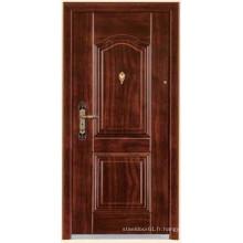 portes en acier bois finition portes blindées