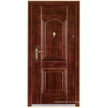 portas de aço madeira acabamento portas blindadas
