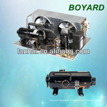 commercial refrigerator spare parts carrier hvac mini refrigeration unit with R404A horizontal refrigeration compressor