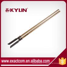 Équipements élevés de foret moulu de foreuse de trou de sonde de trou de poteau en acier