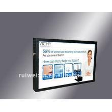 Reproductor de publicidad de 12 pulgadas con pantalla táctil