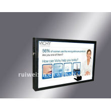 12 inch ad player with touch screen