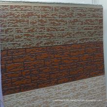Metallisches PU-Schaum-prägeartiges Wand-Panel (PU-Kernmaterial)