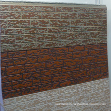 Panel de pared en relieve de espuma de PU metálica (material de núcleo PU)