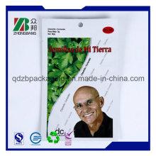 Wholesale Ziplock Raw Organic Chia Seeds Bag