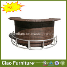 High Quality Outdoor Furniture Rattan Bar Table CF661