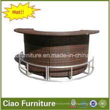 Высокое качество Открытый мебель из ротанга бар стол CF661