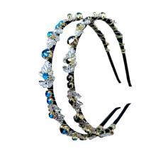 Bandeau fascia per capelli Rhinestone Crystal Slim Headband Luxury Hair Accessories Korean Baroque Hairband Vintage for Woman Girl Gift Dropshipping