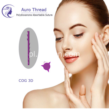 3D Meso PDO Face Lifting Thread for Beauty