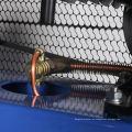 Compresor de aire de punto azul de color personalizado modelo personalizado