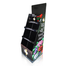 Stylish Cardboard Display Shelf, Pop Paper Display