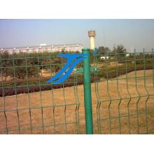 Безопасности забор двойной проволоки сетки стальной забор